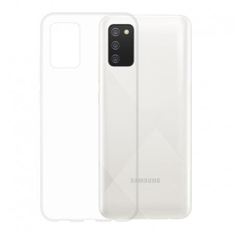Gumové pouzdro Samsung Galaxy A02s transparentní