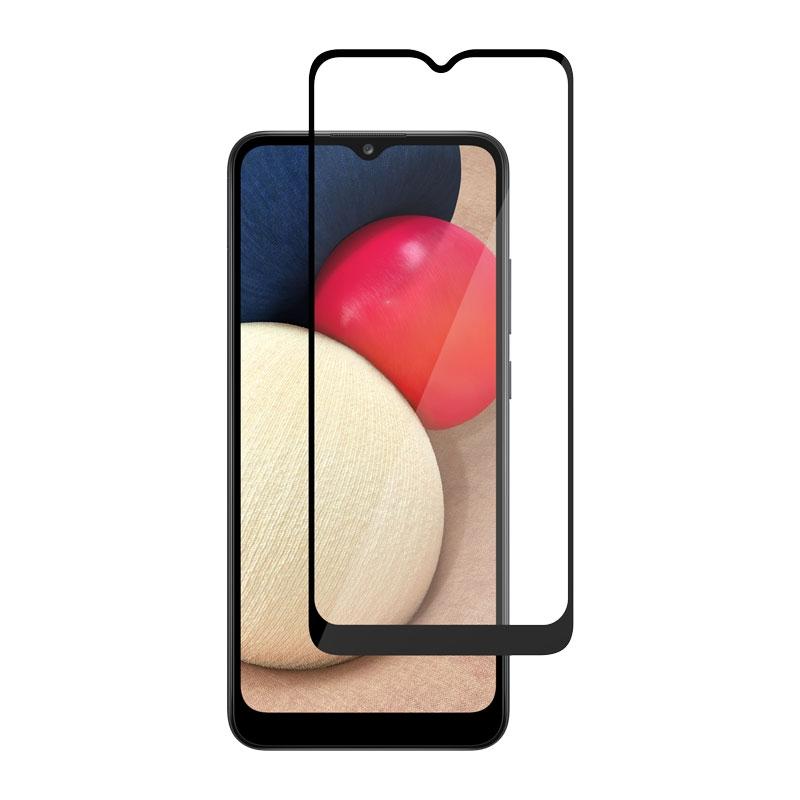 Ochranní sklo na Samsung Galaxy A02s černé