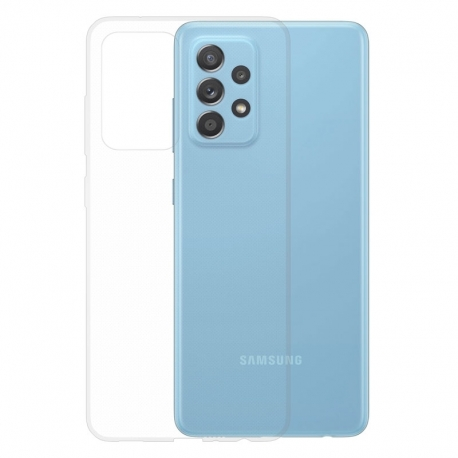 Gumové pouzdro Samsung Galaxy A52 / A52 5G transparentní