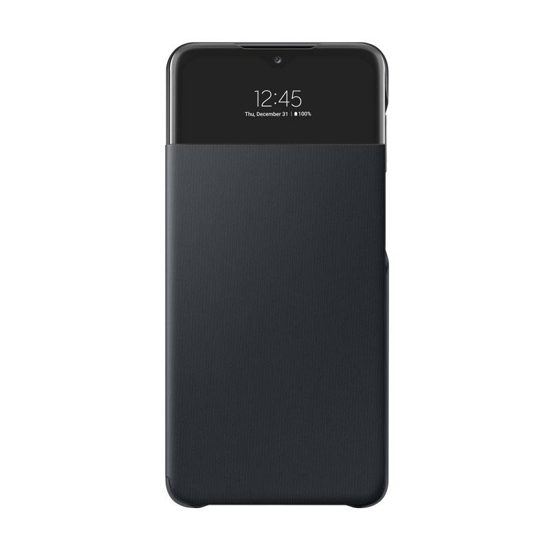 Samsung S View Cover puzdro na Galaxy A32 (5G) čierne