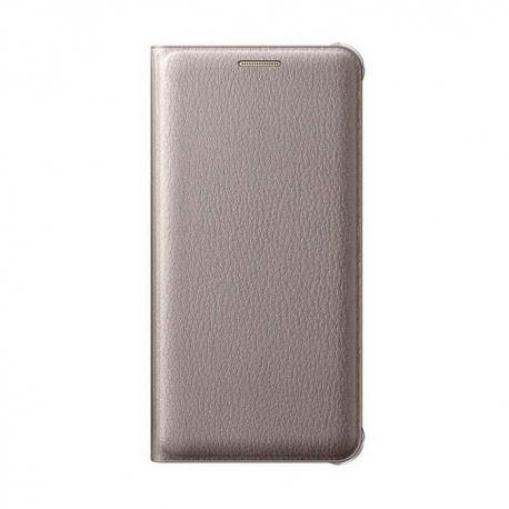 Samsung Wallet Cover flipové pouzdro na Galaxy A5 2016 zlaté