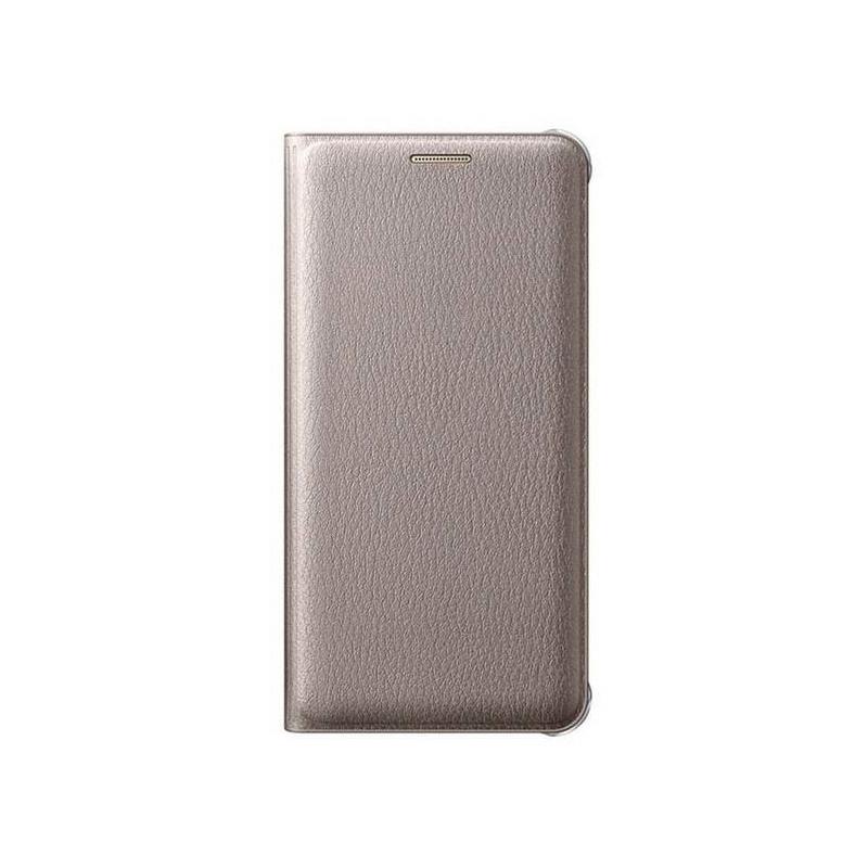 Samsung Wallet Cover flipové puzdro na Galaxy A5 2016 zlaté
