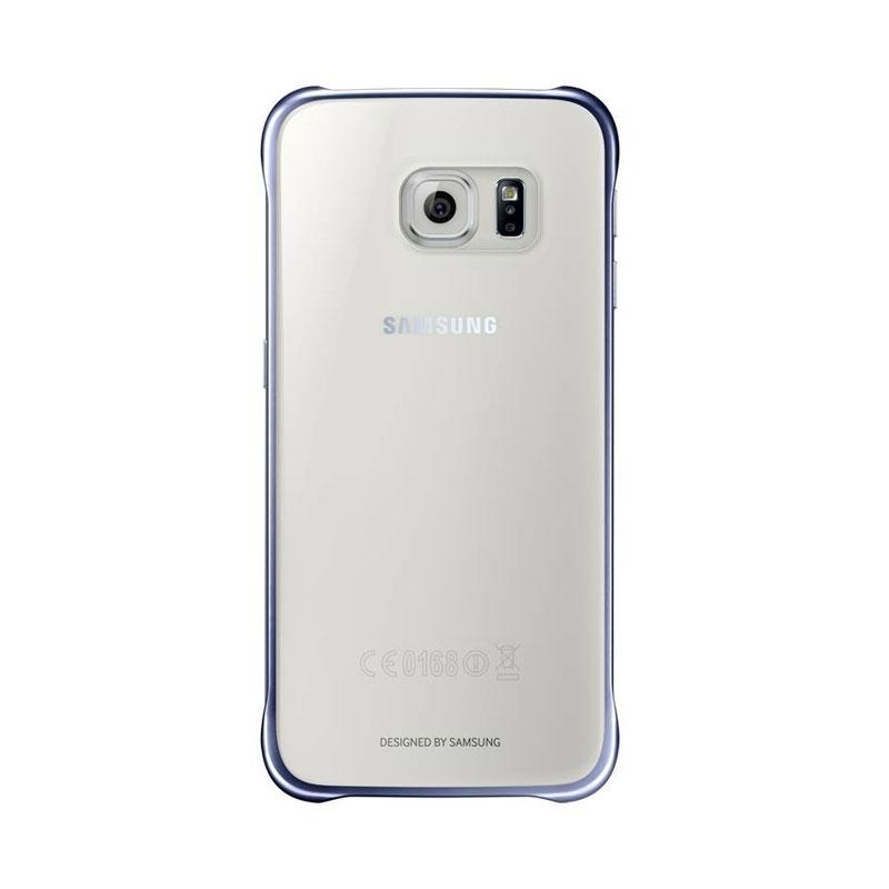Samsung Clear Cover priehľadný obal na Galaxy S6 čierny