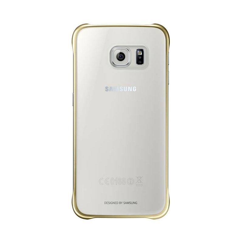 Samsung Clear Cover priehľadný obal na Galaxy S6 strieborný