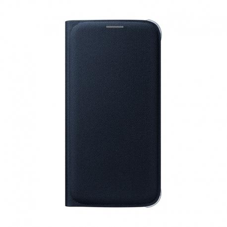 Samsung Wallet Cover flipové puzdro na Galaxy S6 čierne