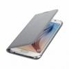 Samsung Wallet Cover flipové puzdro na Galaxy S6 šedé