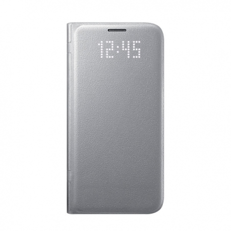 Samsung LED View Cover flipové pouzdro na Galaxy S7 stříbrné