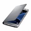 Samsung LED View Cover flipové puzdro na Galaxy S7 strieborné