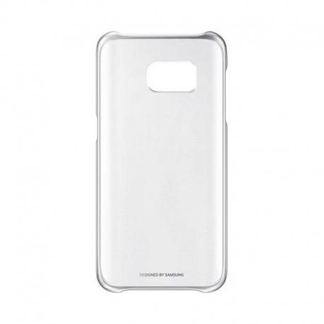 Samsung Clear Cover priehľadný obal na Galaxy S7 strieborný