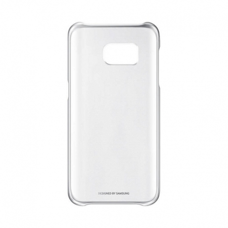 Samsung Clear Cover průhledný obal na Galaxy S7 stříbrný