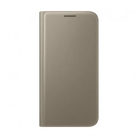 Samsung Wallet Cover flipové pouzdro na Galaxy S7 zlaté