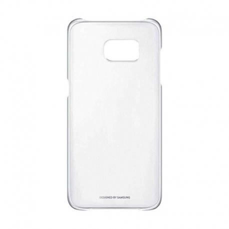 Samsung Clear Cover priehľadný obal na Galaxy S7 Edge strieborný