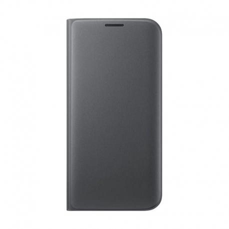 Samsung Wallet Cover flipové pouzdro na Galaxy S7 Edge černé