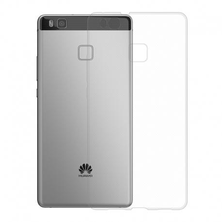 Gumové pouzdro SLIM pro Huawei P9 Lite transparentní