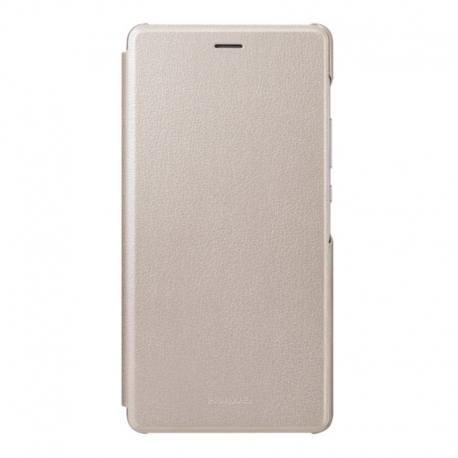 Huawei Flip cover pouzdro pro Huawei P9 Lite zlatý