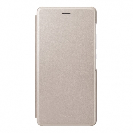 Huawei Flip cover puzdro na P9 Lite zlaté