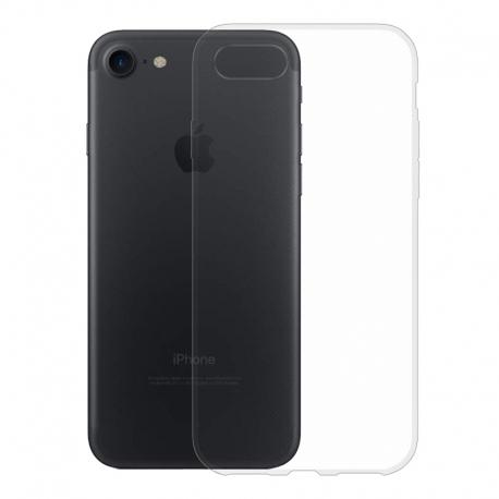 Gumené puzdro na Apple iPhone 8 / 7 transparentné