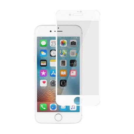 Ochranné sklo na Apple iPhone 8 / 7 biele