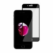 Ochranné sklo na Apple iPhone 8 / 7 čierne