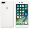 Apple iPhone 8 Plus / 7 Plus silikónové puzdro biele