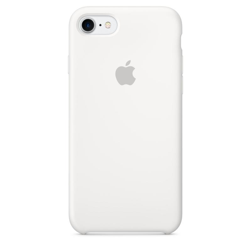 Apple iPhone 8 / 7 silikónové puzdro biele
