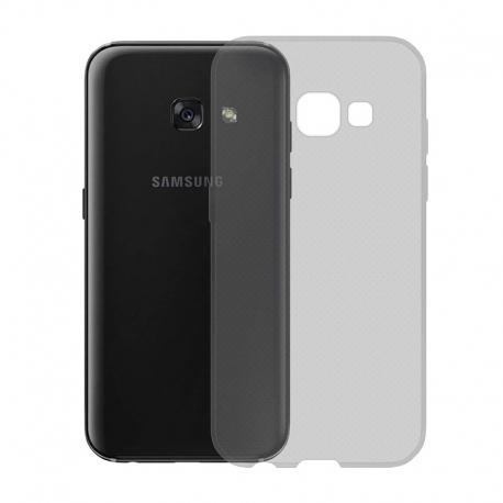 Gumené Slimové puzdro na Samsung Galaxy A3 2017 tmavo šedé