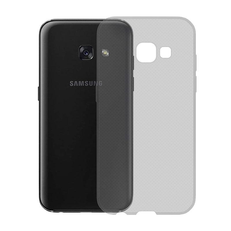 Gumové pouzdro SLIM pro Samsung Galaxy A3 2017 tmavě šedé