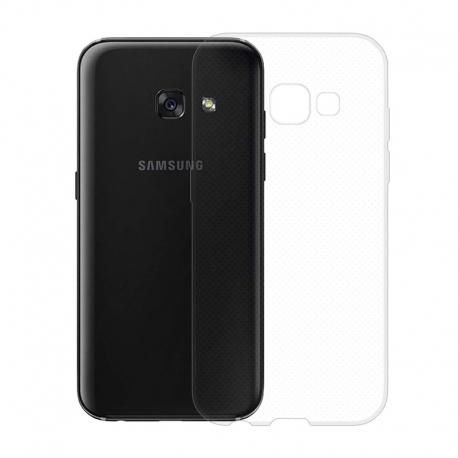 Gumové pouzdro SLIM pro Samsung Galaxy A3 2017 transparentní
