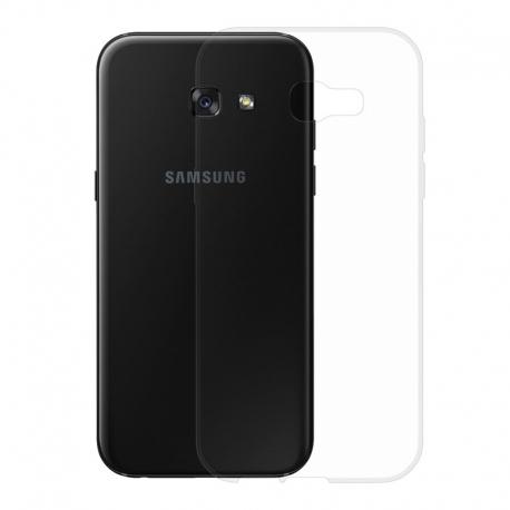 Gumové pouzdro SLIM pro Samsung Galaxy A5 2017 transparentní