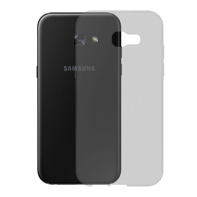 Gumené Slimové puzdro na Samsung Galaxy A5 2017 tmavo šedé