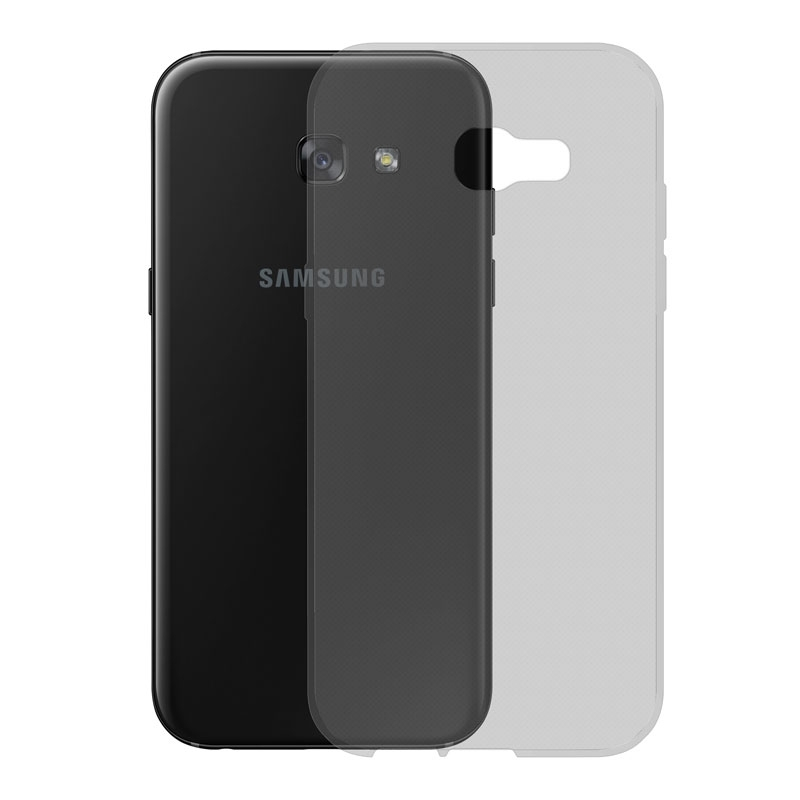 Gumové pouzdro SLIM pro Samsung Galaxy A5 2017 tmavě šedé