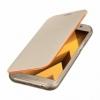 Samsung flipový kryt zlatý pro Galaxy A5 2017