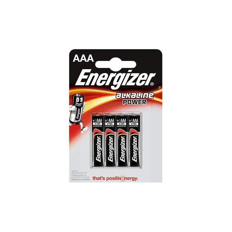 Energizer Base AAA alkalické batérie 4ks v balení