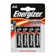 Energizer Base AA alkalické baterie 4ks v balení