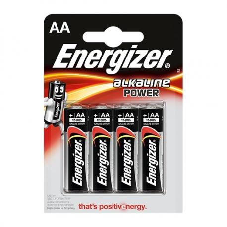 Energizer Base AA alkalické batérie 4ks v balení