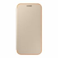 Samsung flipový kryt EF-FA320PF na Galaxy A3 2017 zlatý