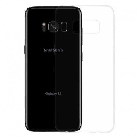 Gumové SLIM pouzdro pro Samsung Galaxy S8 transparentní