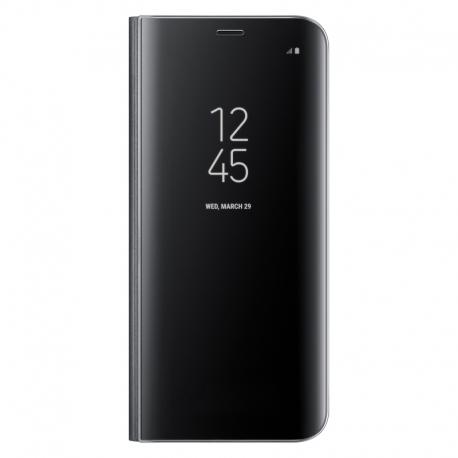 Samsung Clear View Standing Cover pro Galaxy S8 černý