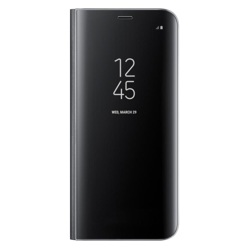 Samsung Clear View Cover EF-ZG950CB puzdro na Galaxy S8 čierne