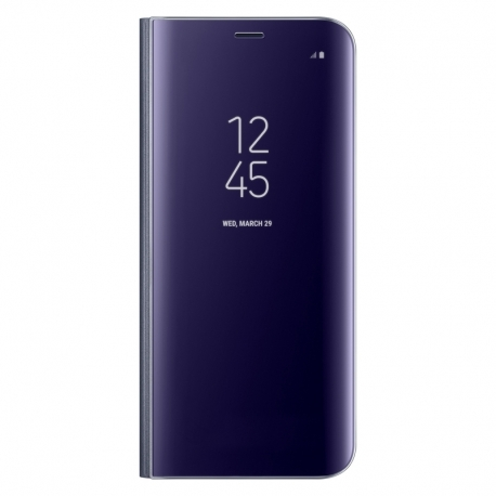 Samsung Clear View Cover EF-ZG950CV puzdro na Galaxy S8 violet