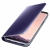 Samsung Clear View Standing Cover pro Galaxy S8 violet