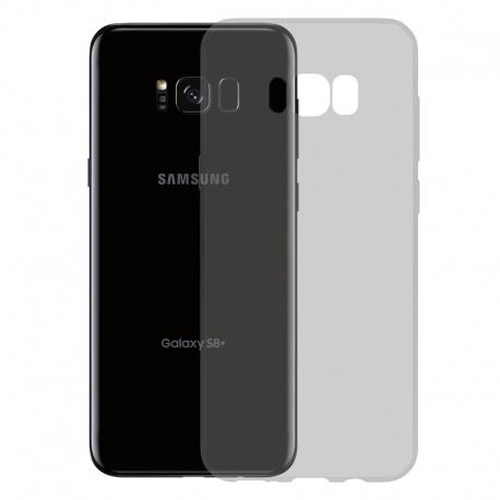 Gumené Slimové puzdro na Samsung Galaxy S8 Plus tmavo šedé