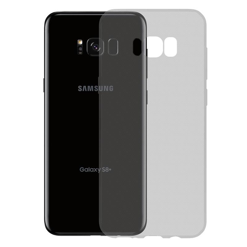 Gumové SLIM pouzdro pro Samsung Galaxy S8 Plus tmavě šedé