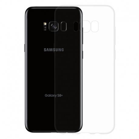 Gumové SLIM pouzdro pro Samsung Galaxy S8 Plus transparentní