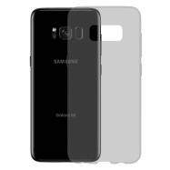Gumené Slimové puzdro na Samsung Galaxy S8 tmavo šedé