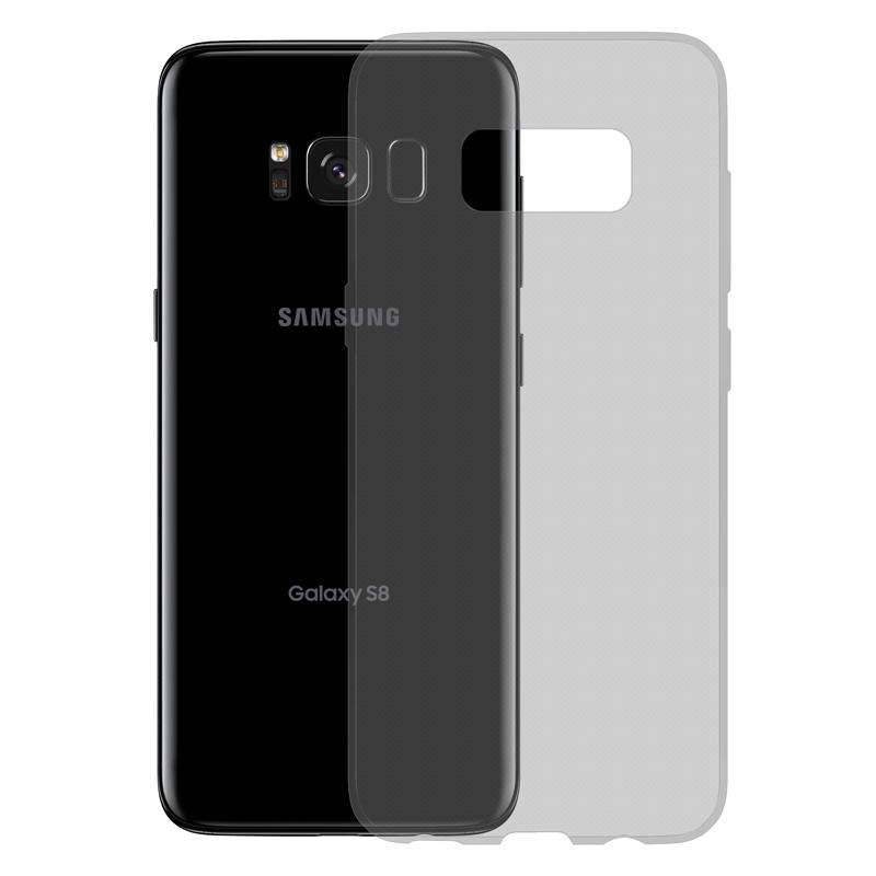Gumové SLIM pouzdro pro Samsung Galaxy S8 tmavě šedé