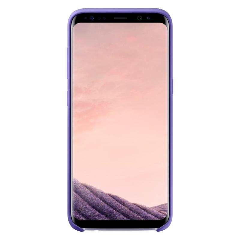 Samsung Silicone Cover pro Galaxy S8 fialový