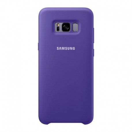 Samsung Silicone Cover pro Galaxy S8 Plus fialový