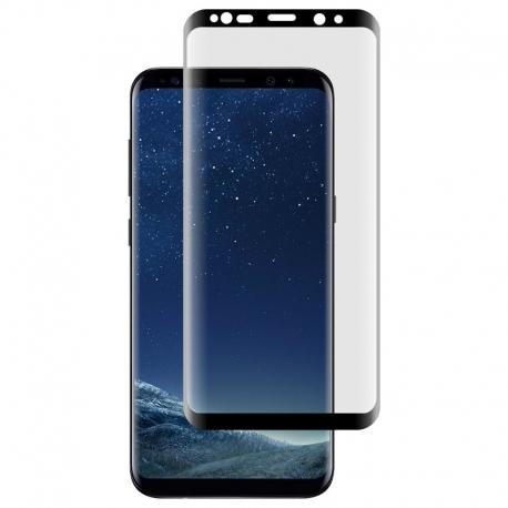 Ochranné sklo na Samsung Galaxy S8 Plus čierne