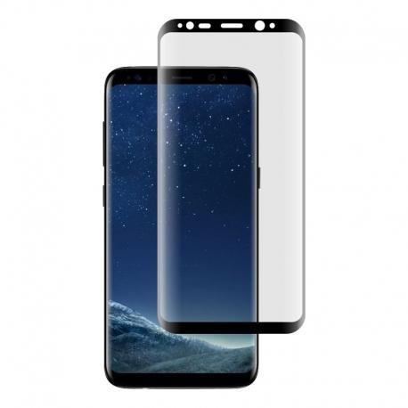 Ochranné sklo na Samsung Galaxy S8 čierne